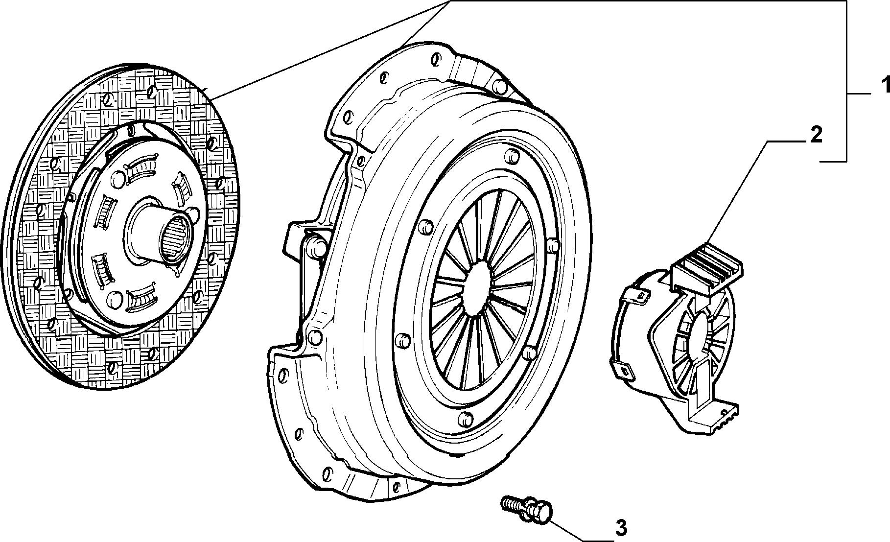 18109-010 CLUTCH KIT
