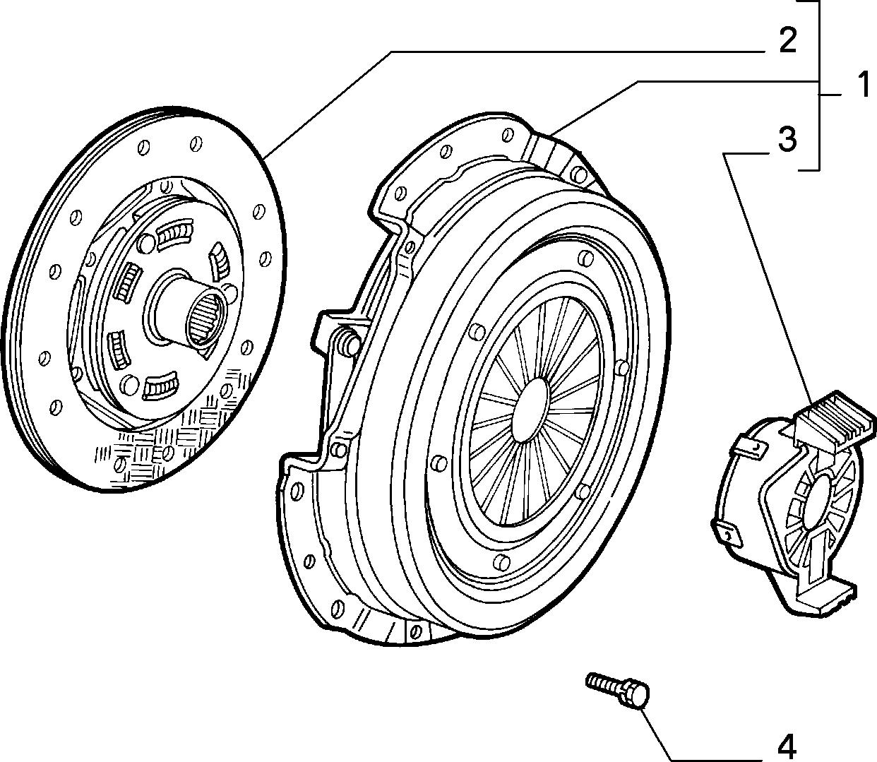18109/01 СЦЕПЛЕНИЕ