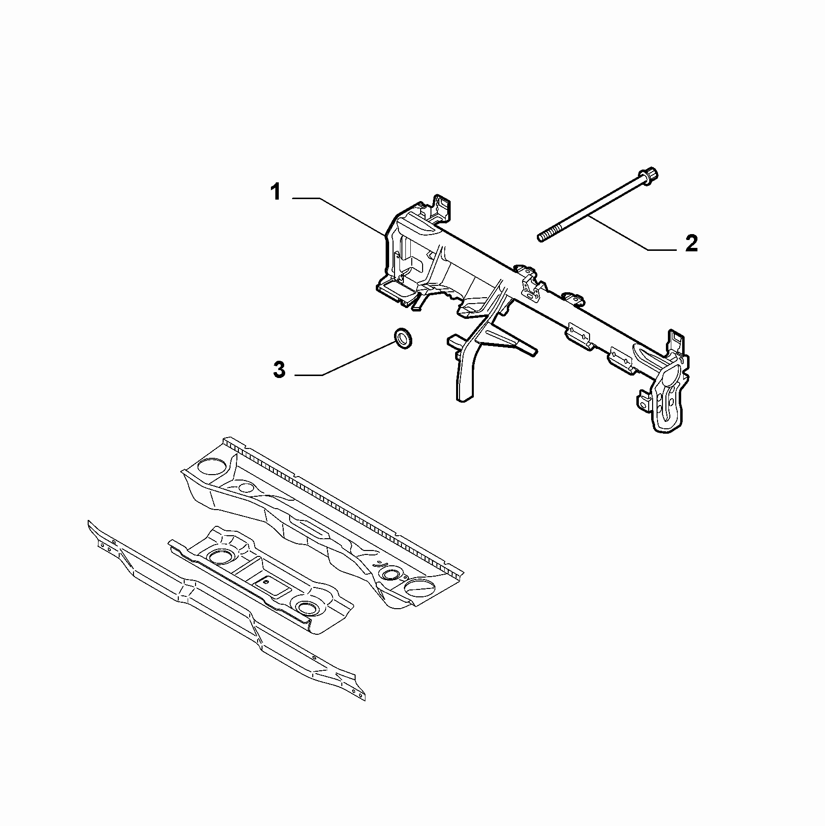 70002-050 DASHBOARD CROSSRAIL