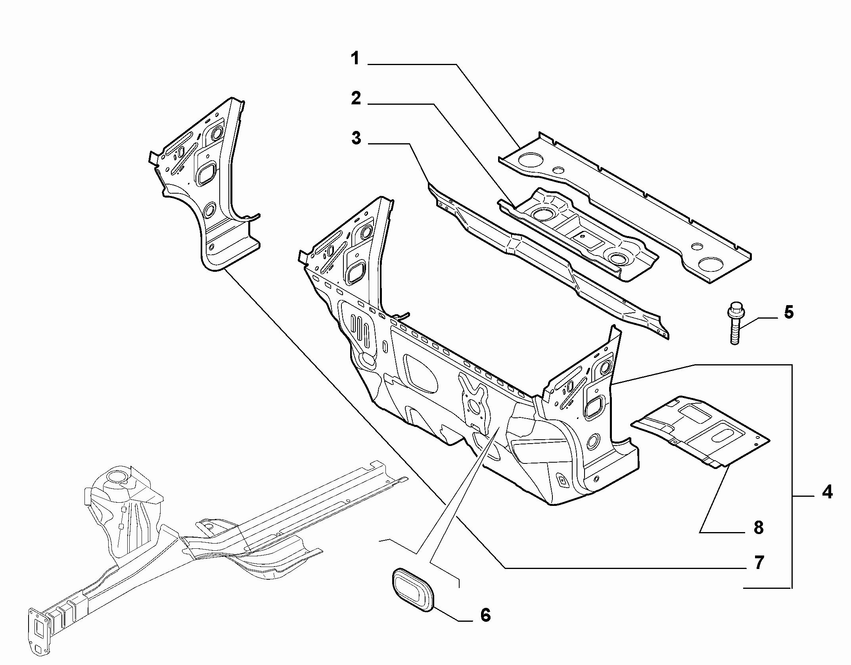 70002-040 INSTRUMENT PANEL WALL
