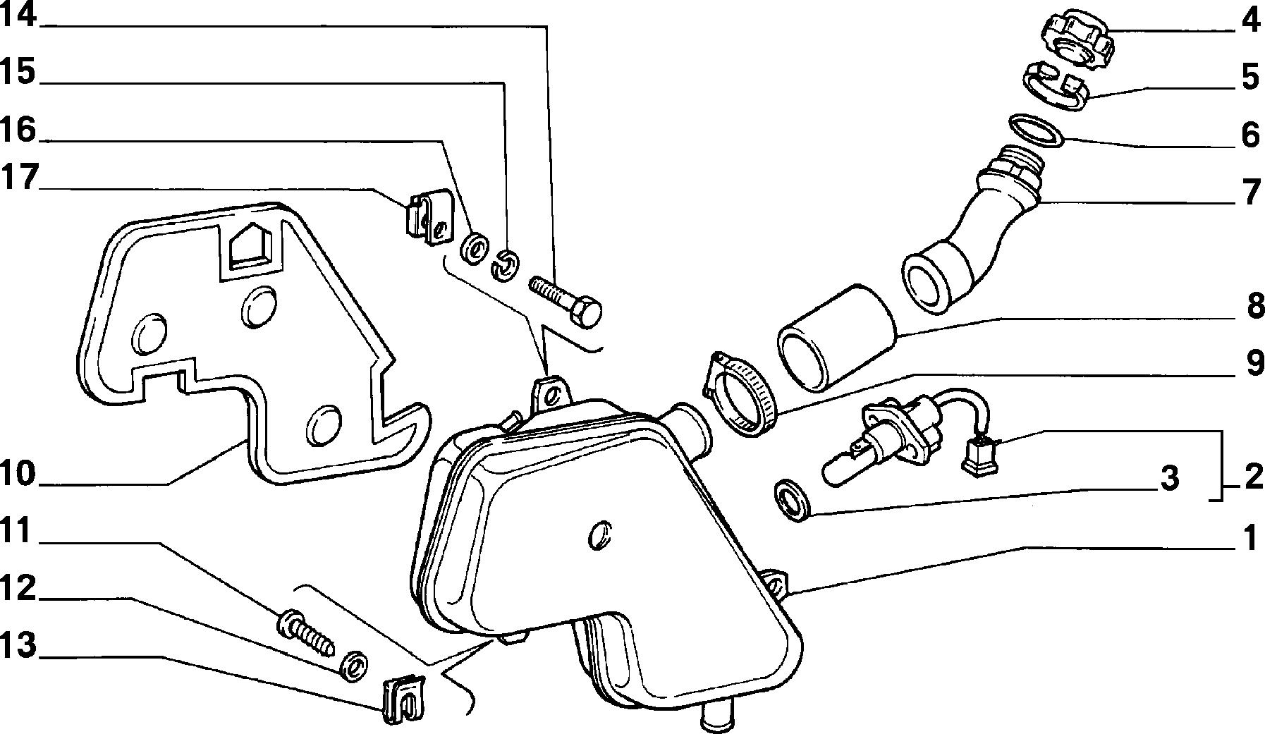 10401/00 РАДИАТОР И ТРУБОПРОВОДЫ