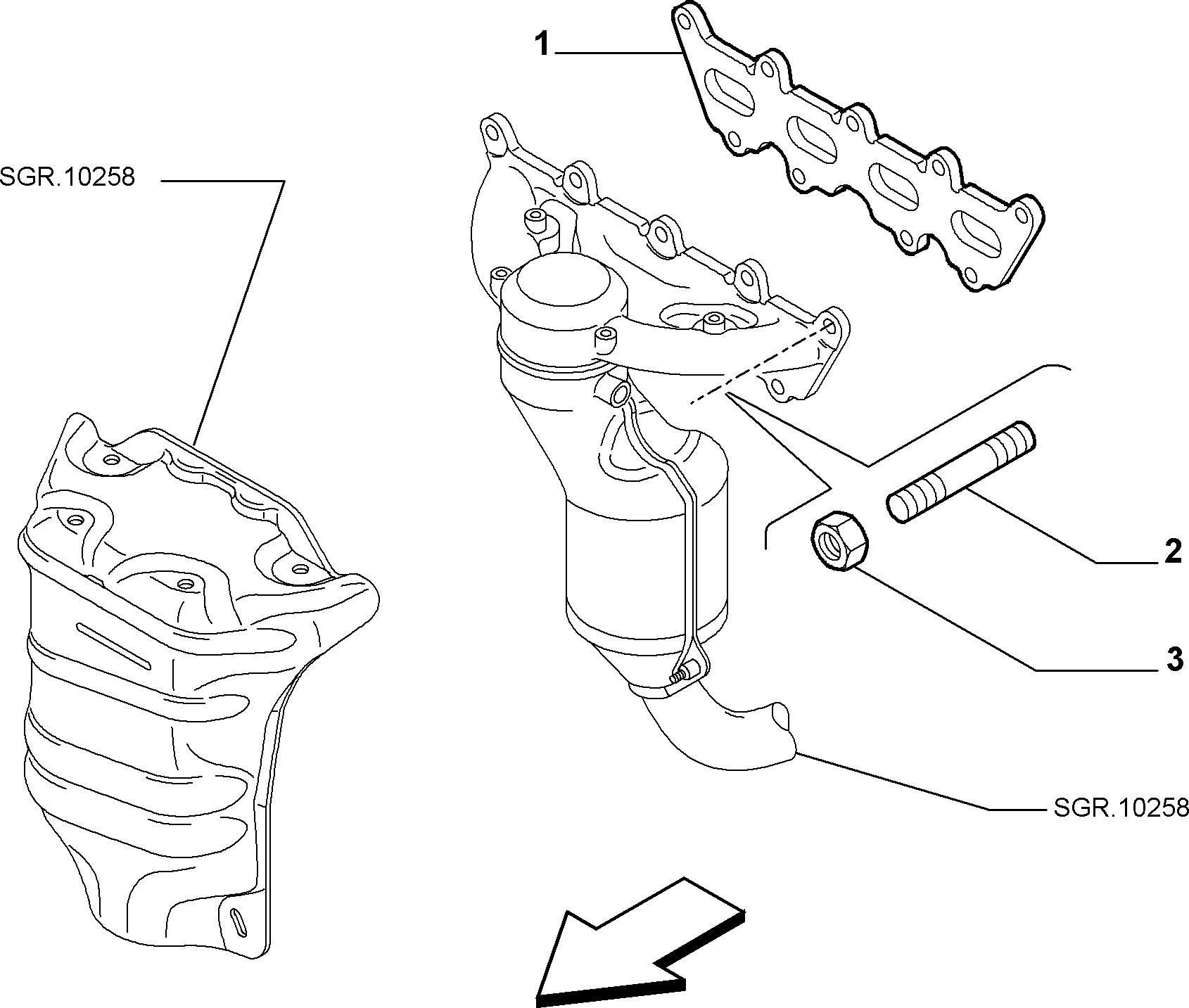 10256-010 СПУСКНОЙ КАНАЛ