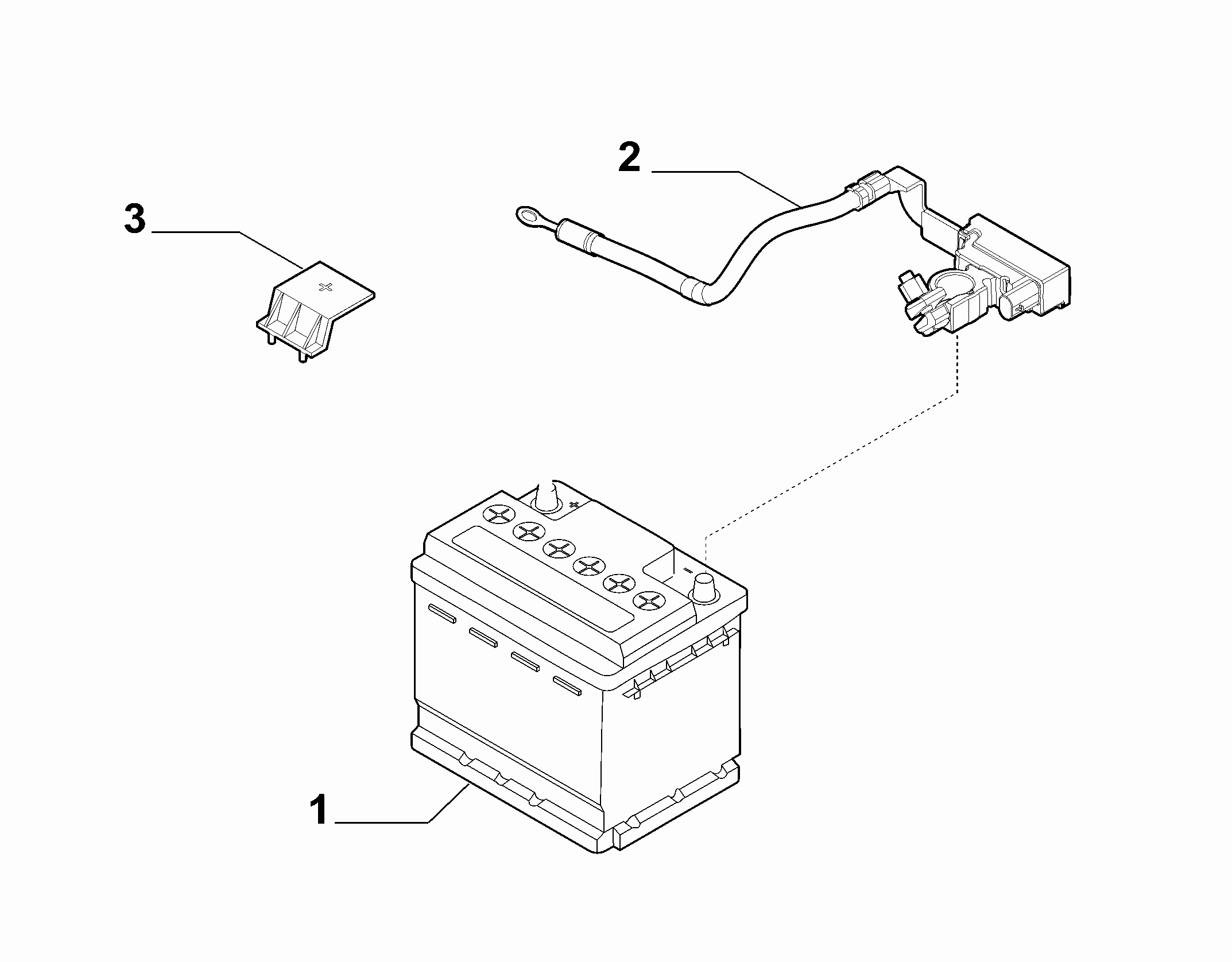 55300-010 BATTERY AND CASE