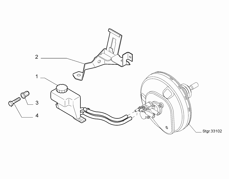 33102-020 BRAKE RESERVOIR