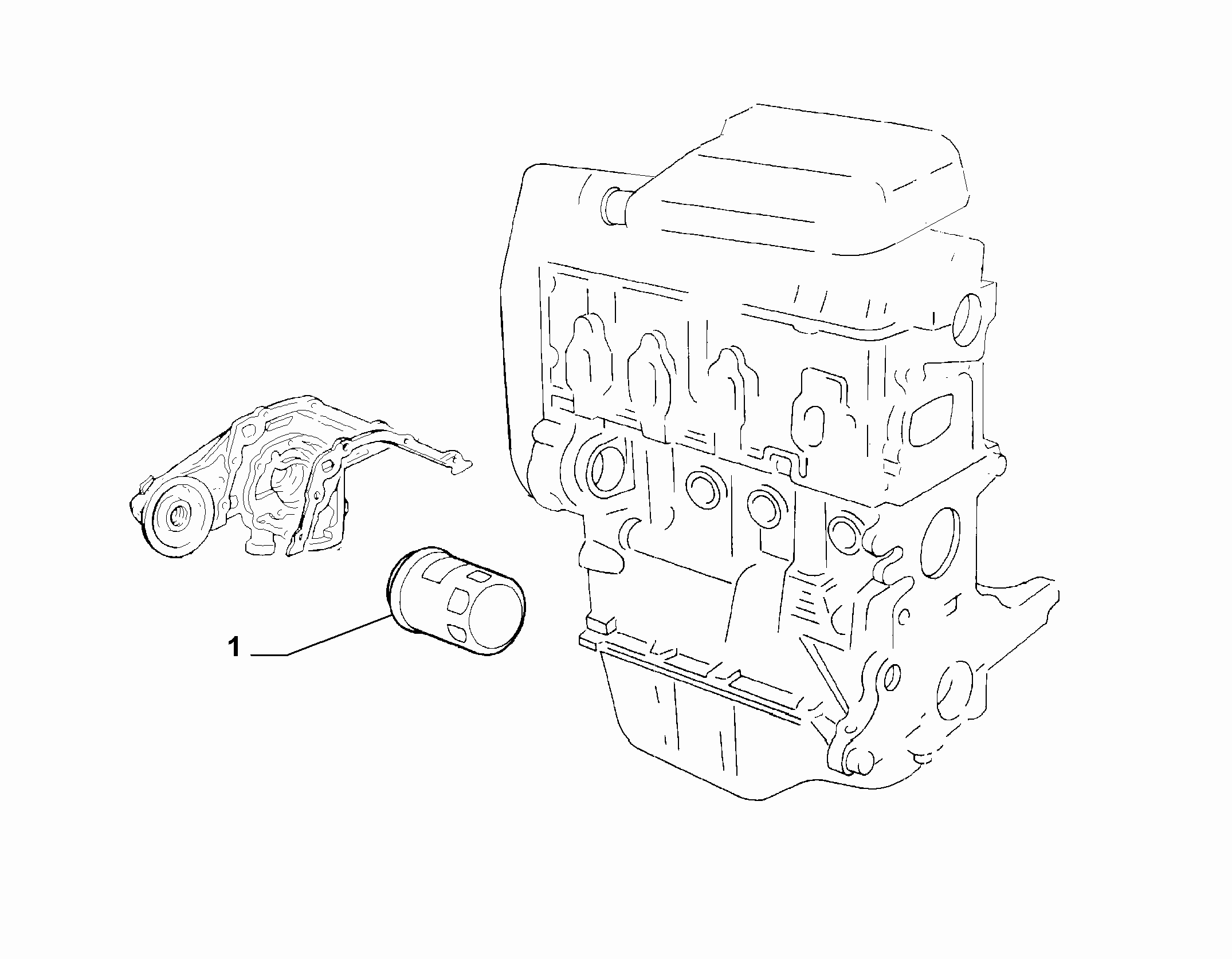 10301-041 OIL FILTER AND SUCTION SPOUT