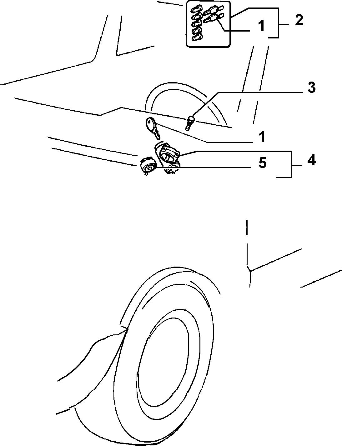 55202/00 ВЫКЛЮЧАТЕЛЬ ЗАЖИГАНИЯ