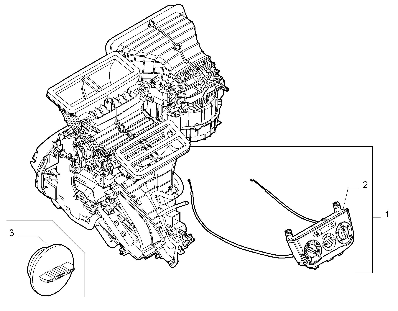 50101-010 HEATER/AIR CON