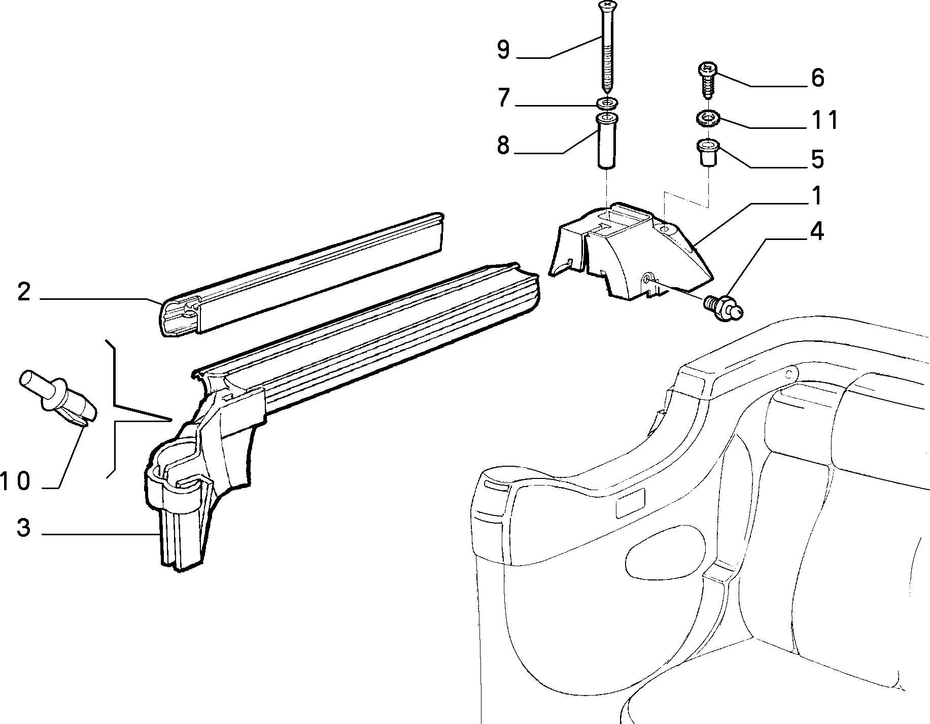 70156/00 БОКОВОЕ ОКНО