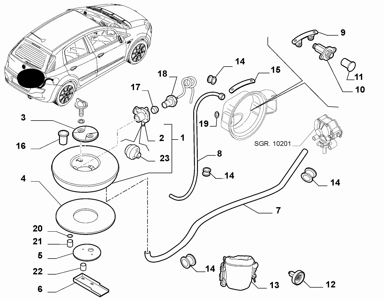 10200-040 GAS CYLINDER