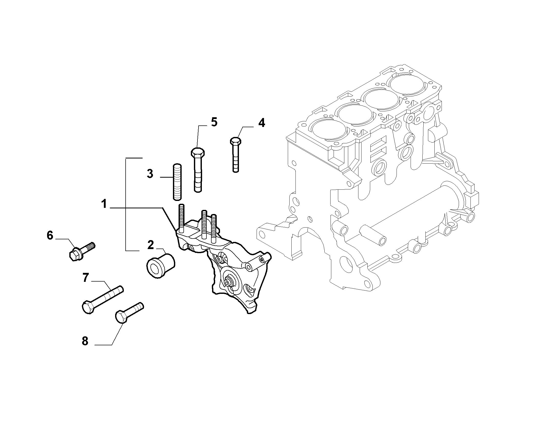 10003-010 ENGINE  SUPPORT
