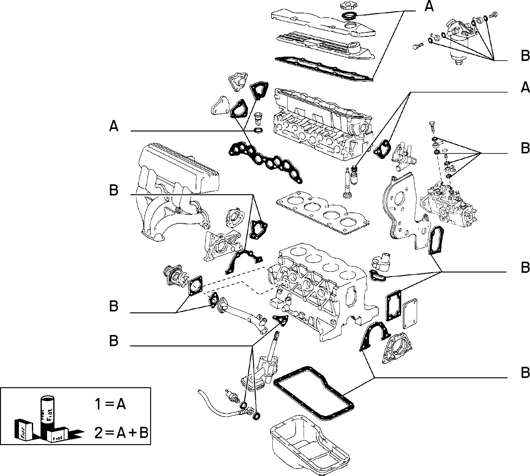 10101/02 БЛОК И ГОЛОВКА ЦИЛИНДРОВ