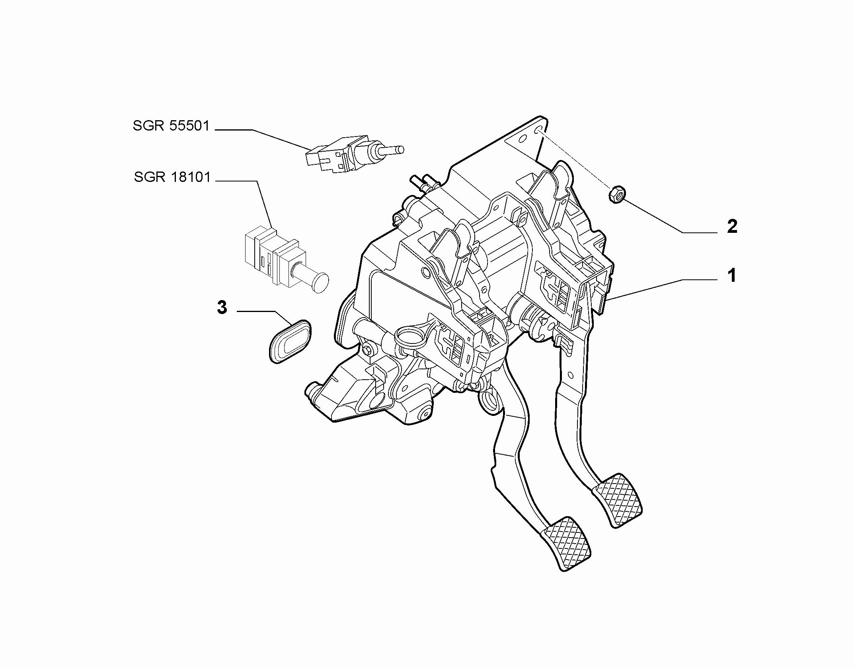 33101-010 RUDDER BAR