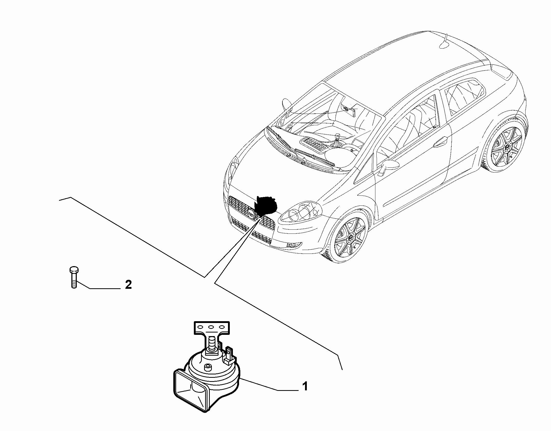 55501-040 HORN
