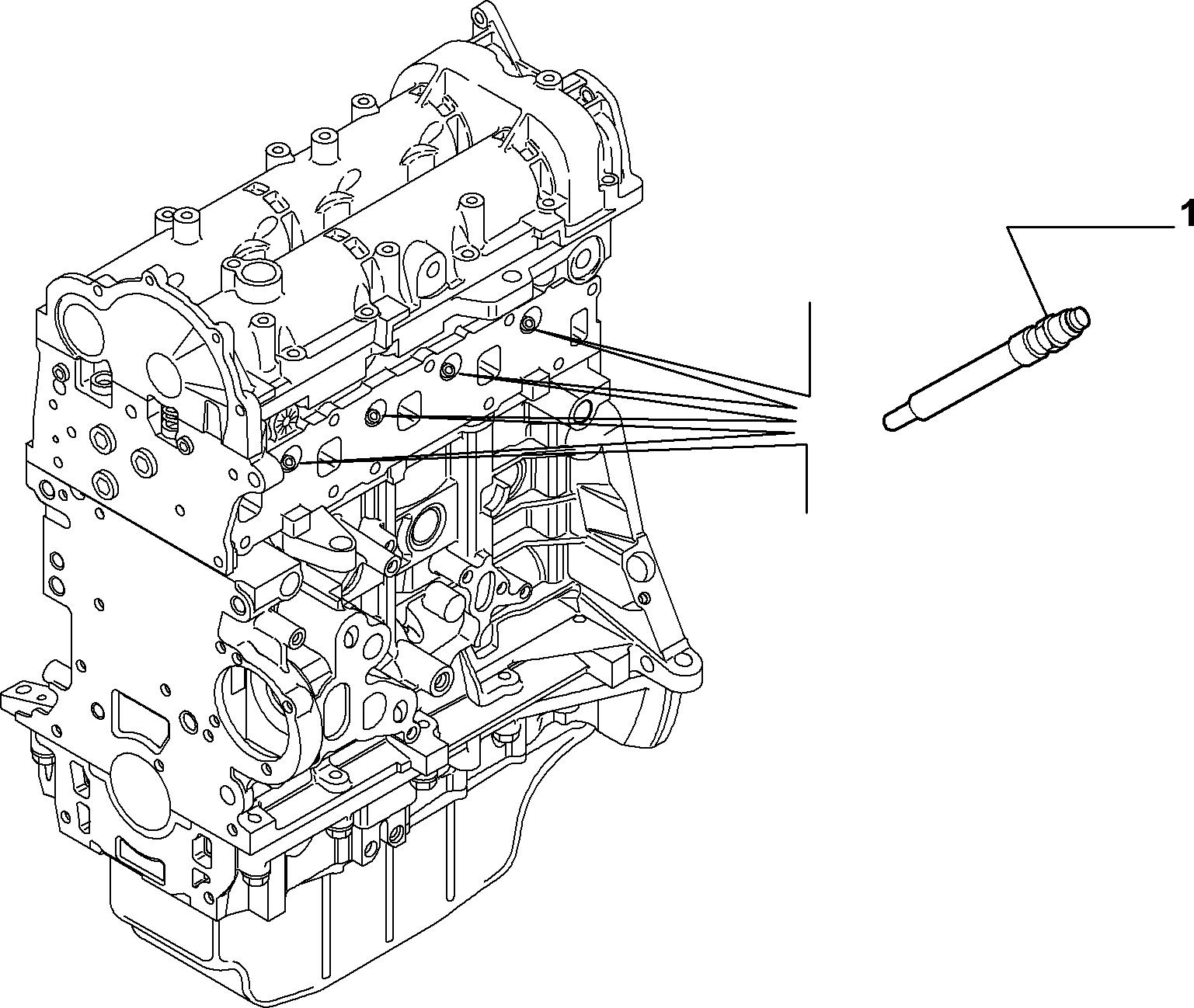 55101-010 GLOW PLUGS