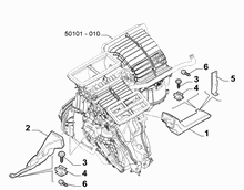 50101-060 FRONT AIR DUCT