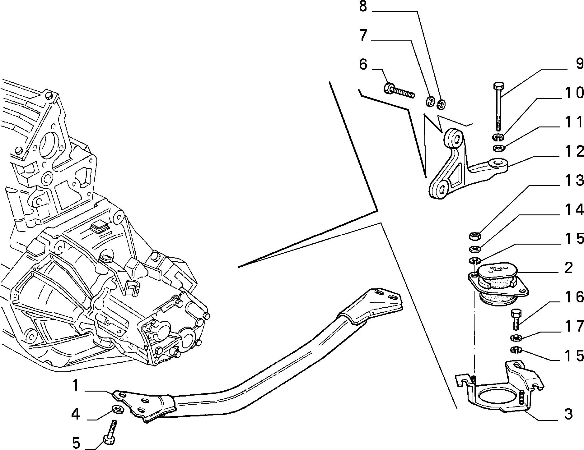10002/03 ПОДВЕСКИ И СИЛОВОЙ АГРЕГАТ