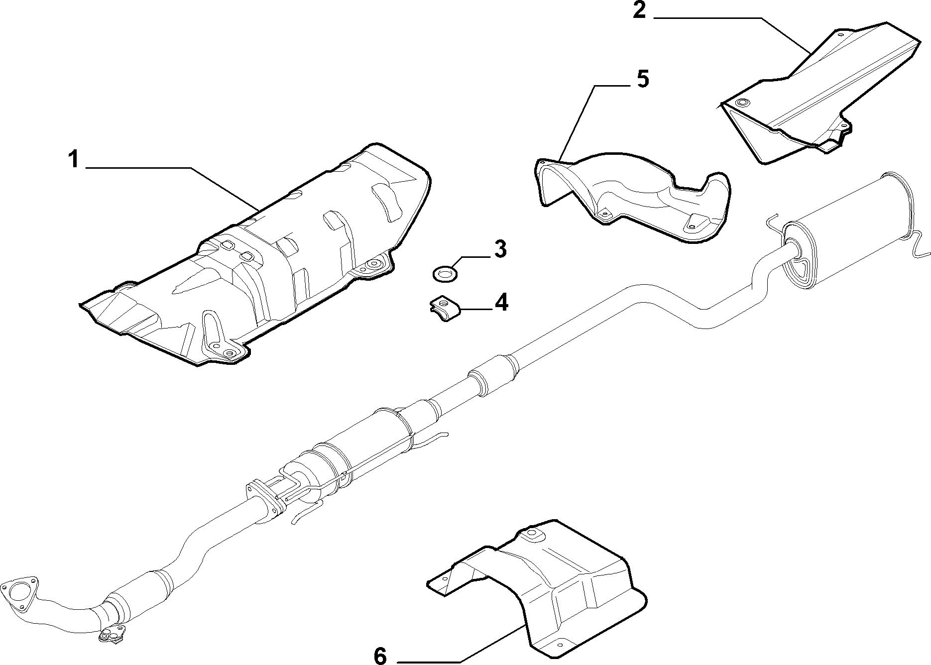 10258-040 HEAT GURADS