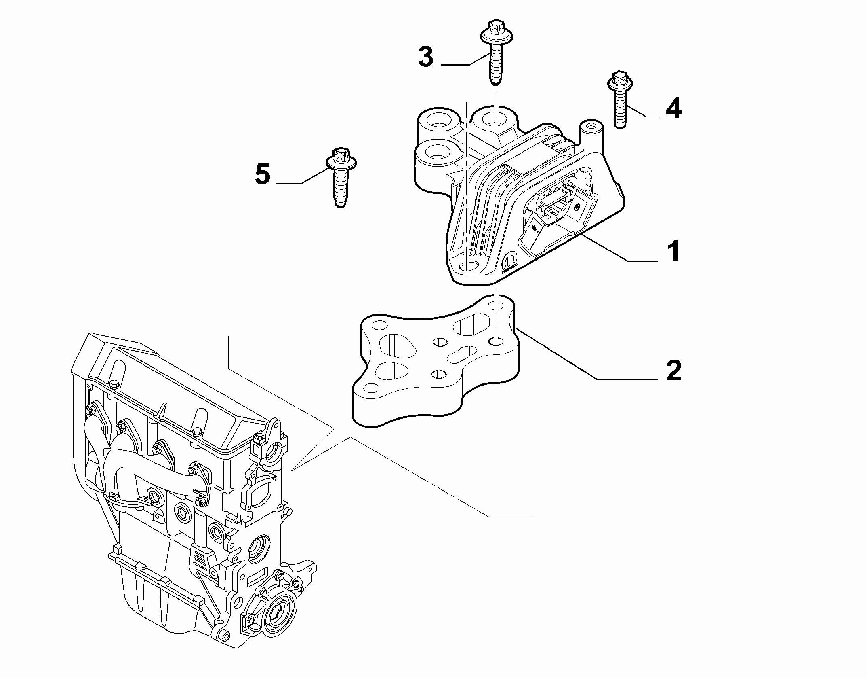10002-020 GEARBOX INLET SCREW ANCHOR SUSPENSION