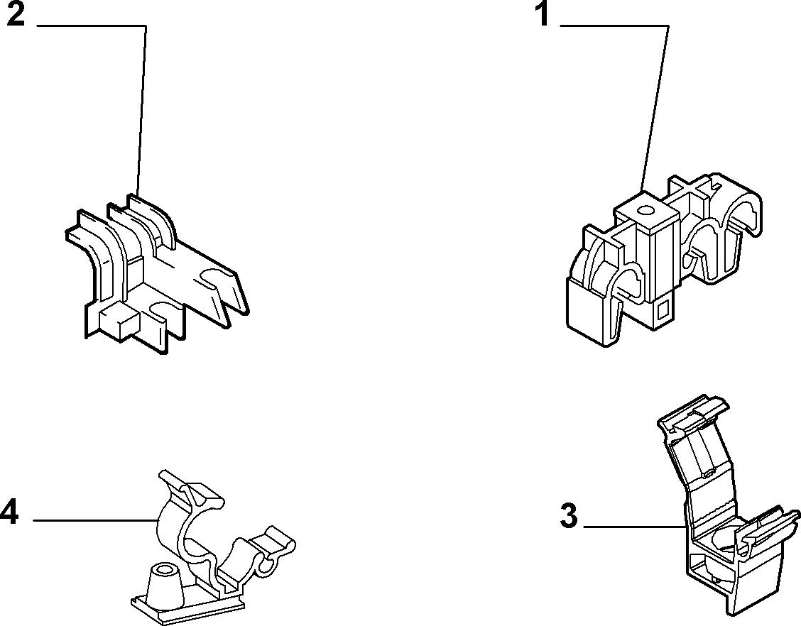10203-010 КРЕПЛЕНИЯ ТОПЛИВНЫХ ТРУБОПРОВОДОВ
