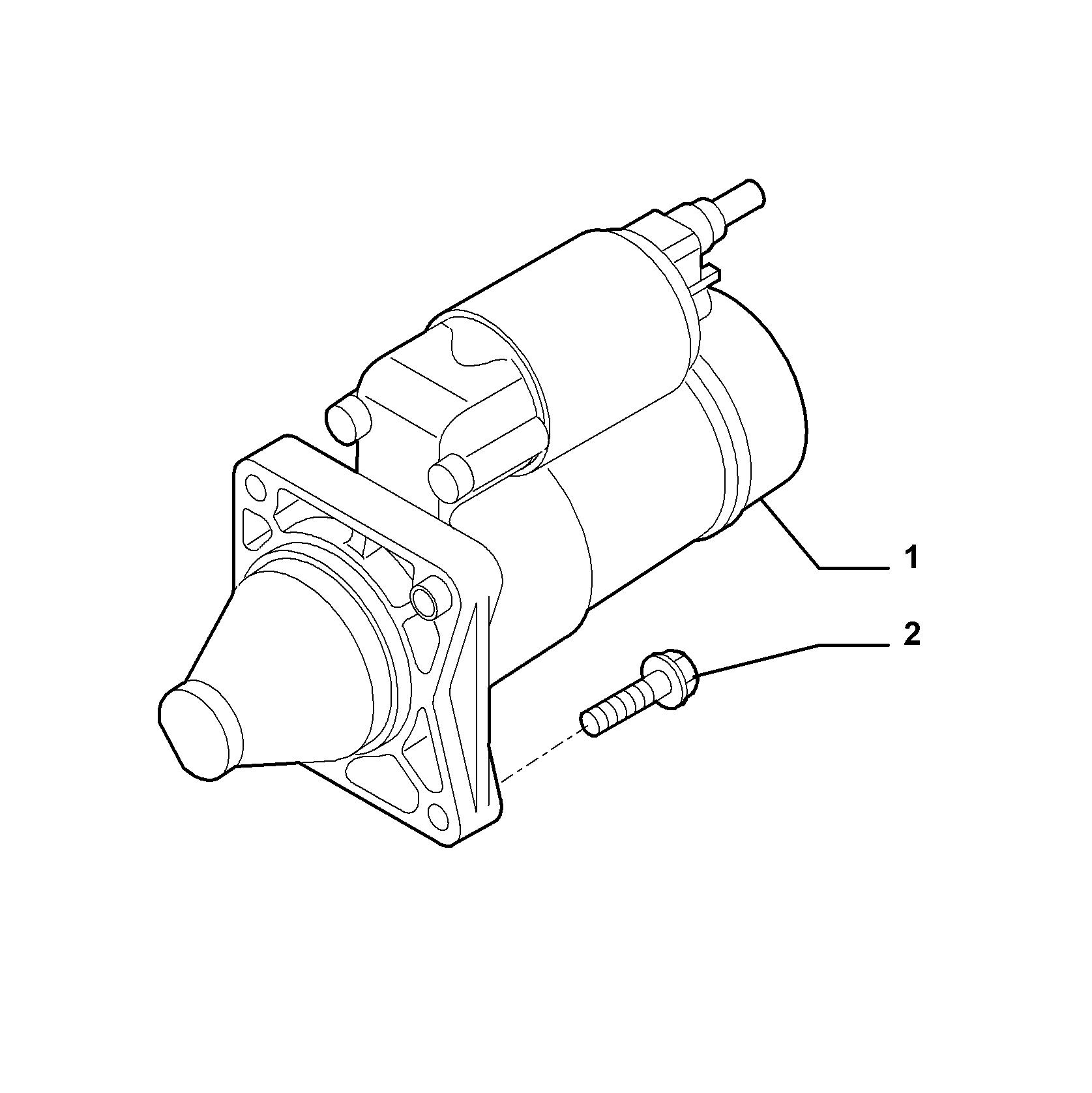 55201-010 STARTER MOTOR