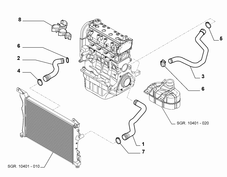 10401-030 RADIATOR PIPING