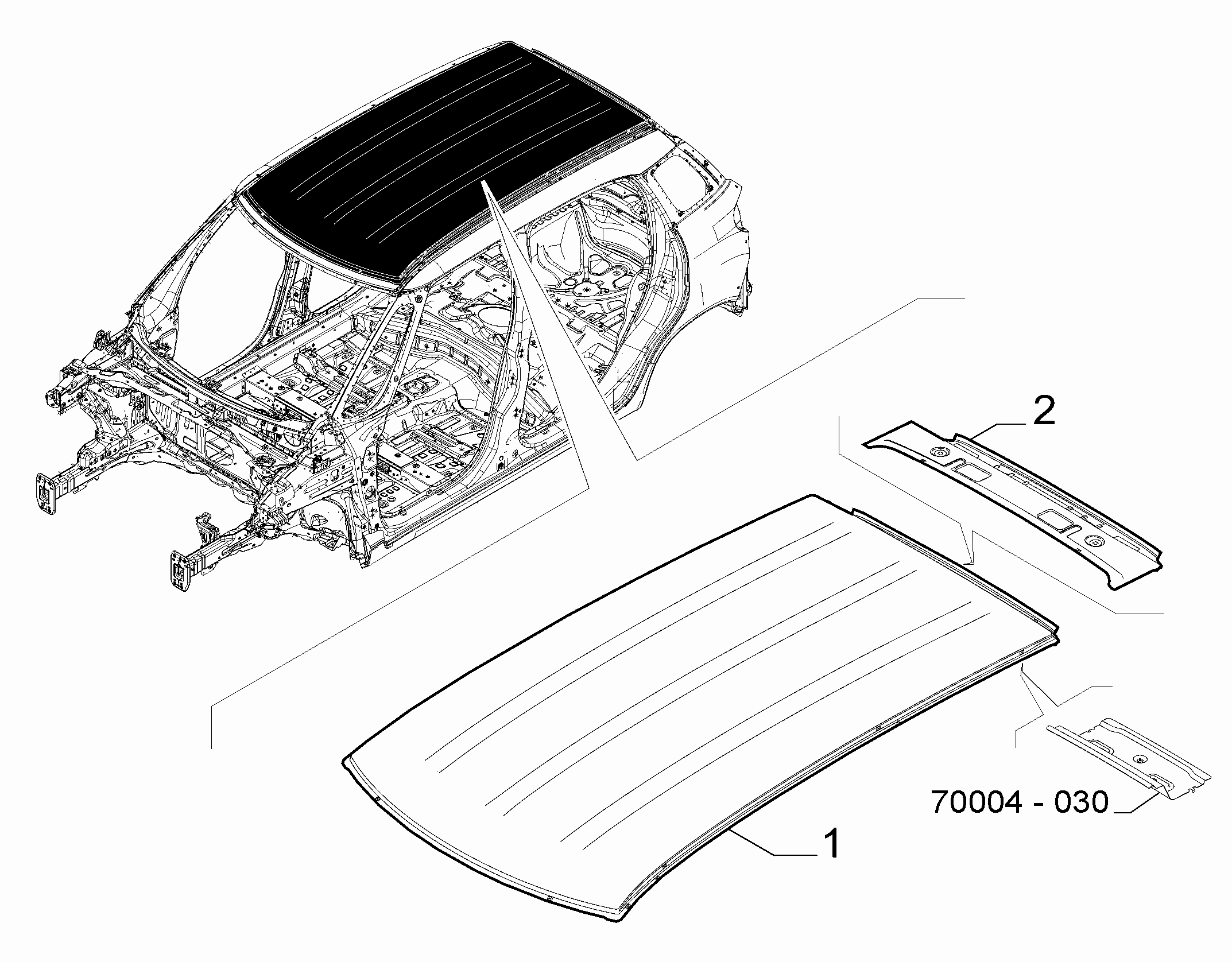 70019-030 ROOF