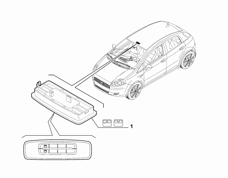 55503-040 ROOFLIGHT SWITCH