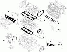 10101-050 GASKET KIT, HEAD AND CRANKCASE