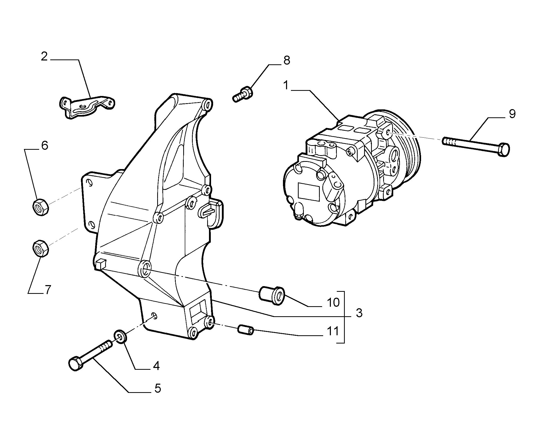 50104-010 КОМПРЕССОР КОНДИЦИОНЕРА