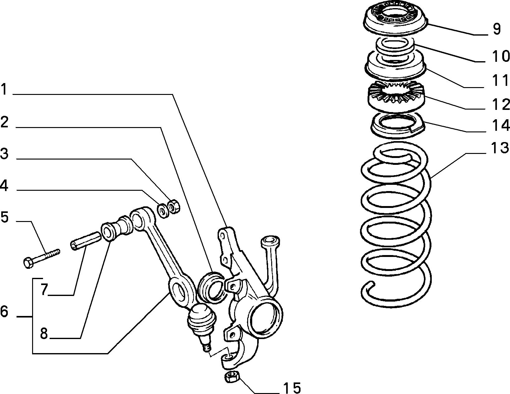 44301/00 ПЕРЕДНЯЯ ПОДВЕСКА