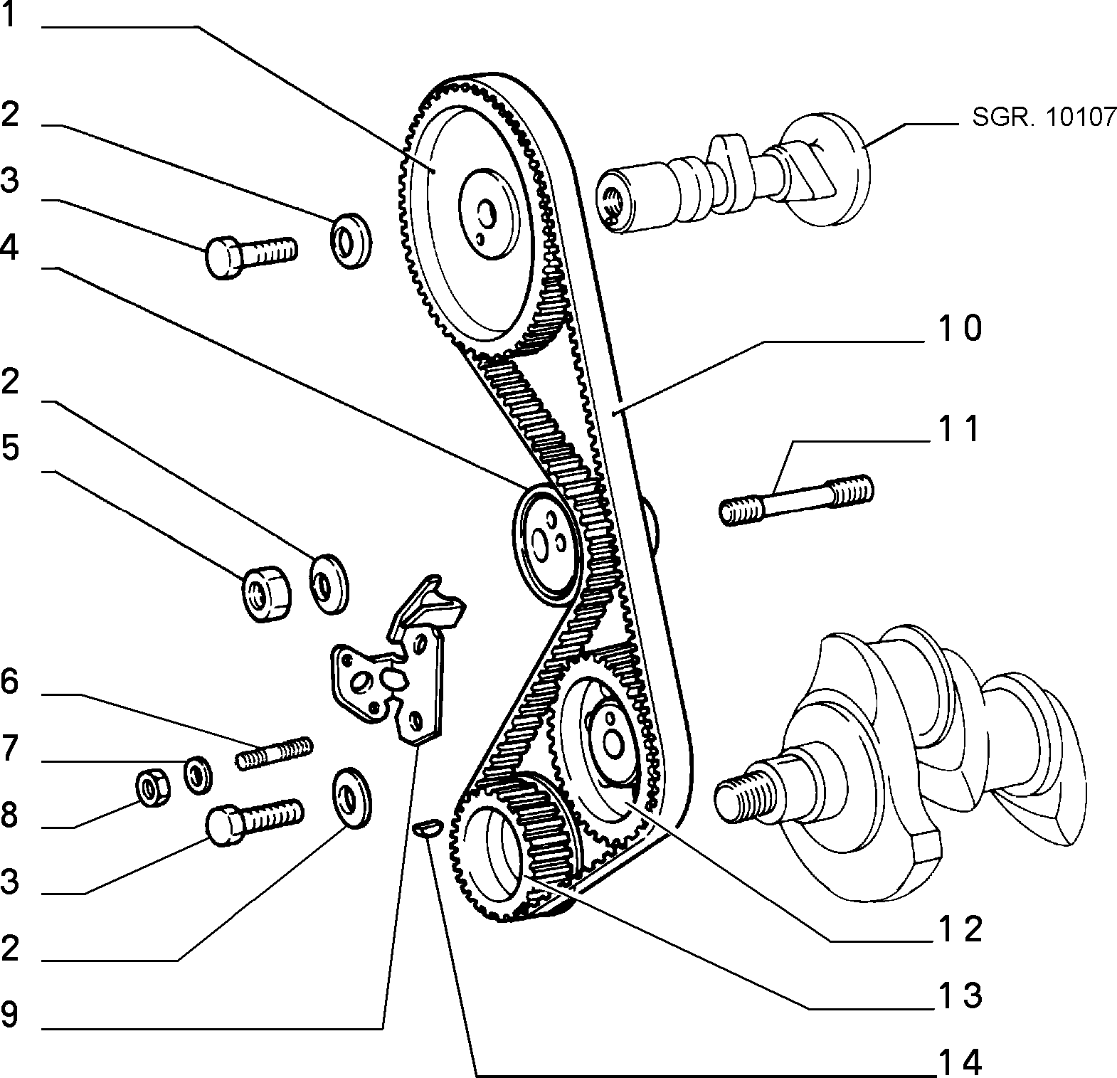 10106/01 ПРИВОД РАСПРЕДВАЛА