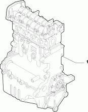 10000-010 SEMI-COMPLETE ENGINE