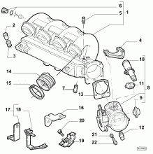 60604621 AIR DUCT SYSTEM