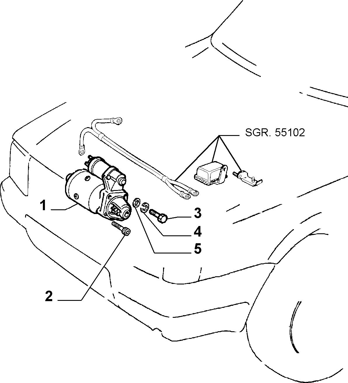 55201/01 ВКЛЮЧЕНИЕ ДВИГАТЕЛЯ