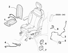 70601-040 ELECTRIC FRONT SEAT DEVICES