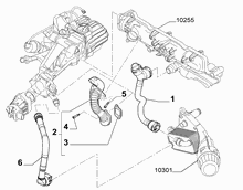 10259-020 EMISSION CONTROL SYSTEM PIPE