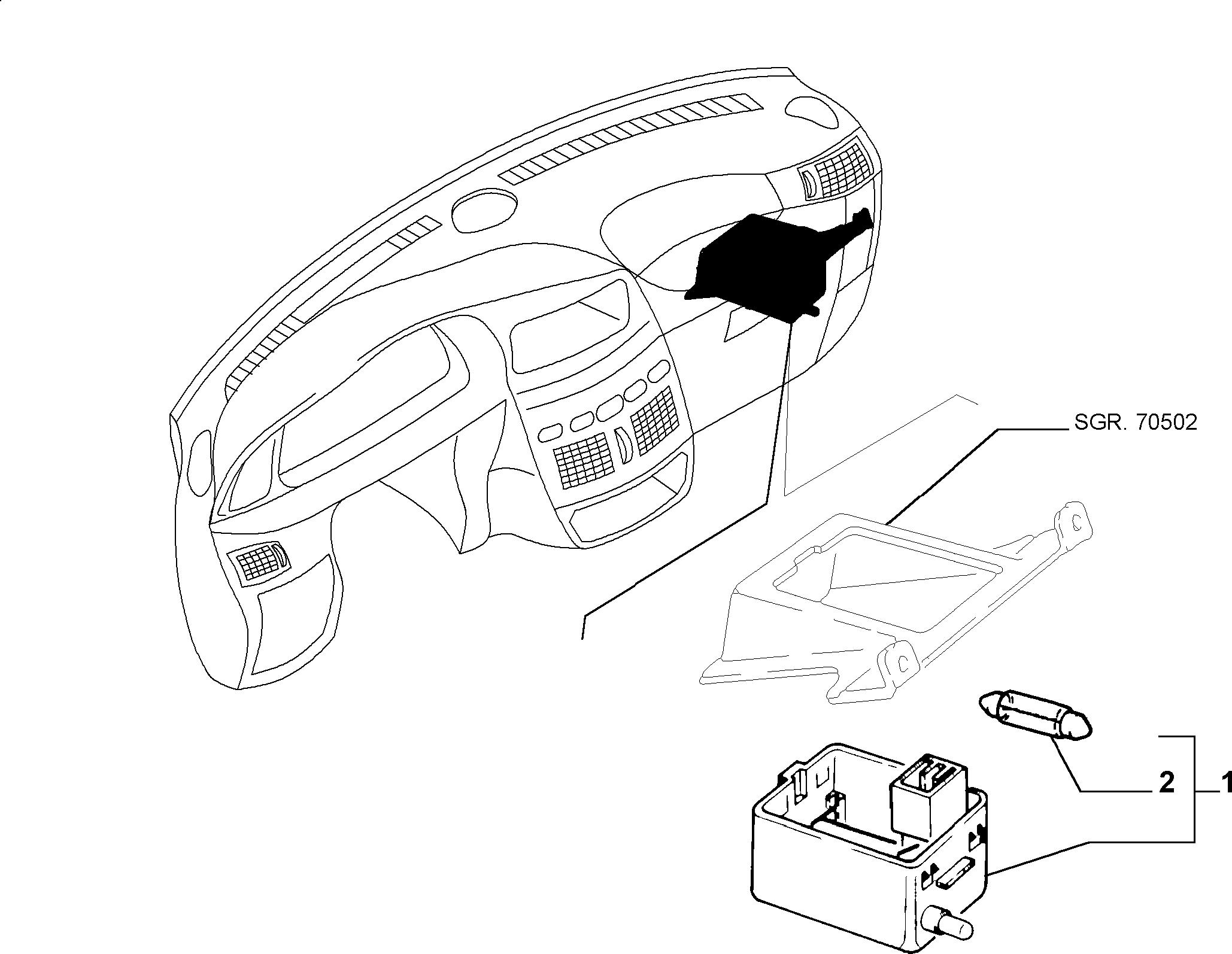 55402/00 ВНУТРЕННЕЕ ОСВЕЩЕНИЕ