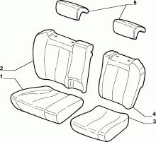 70615/01 REAR SEAT LINING
