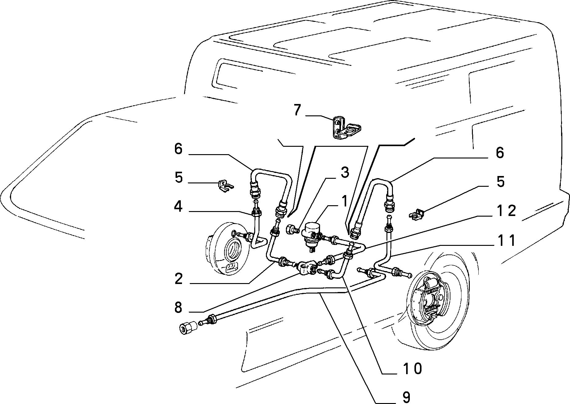 33102/02 ГИДРАВЛИЧЕСКИЙ ПРИВОД ТОРМОЗА