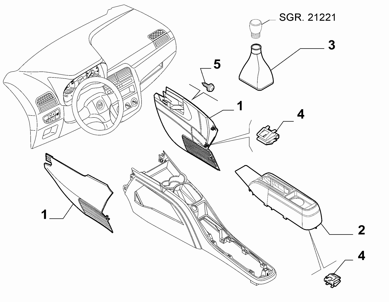 70504-040 COVERS  -  BEZELS - AIR DIFFUSER