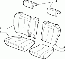70615/03 REAR SEAT LINING