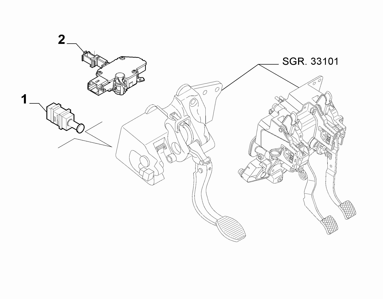 18101-020 CLUTCH DRIVE RELEASE SWITCH