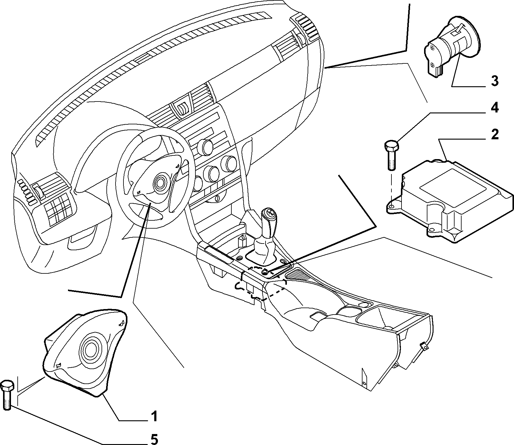 08 подушка безопасности схемы.