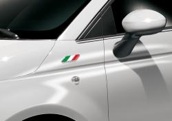 Бейдж итальянского флага